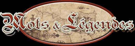 Mots & Légendes, logo du site