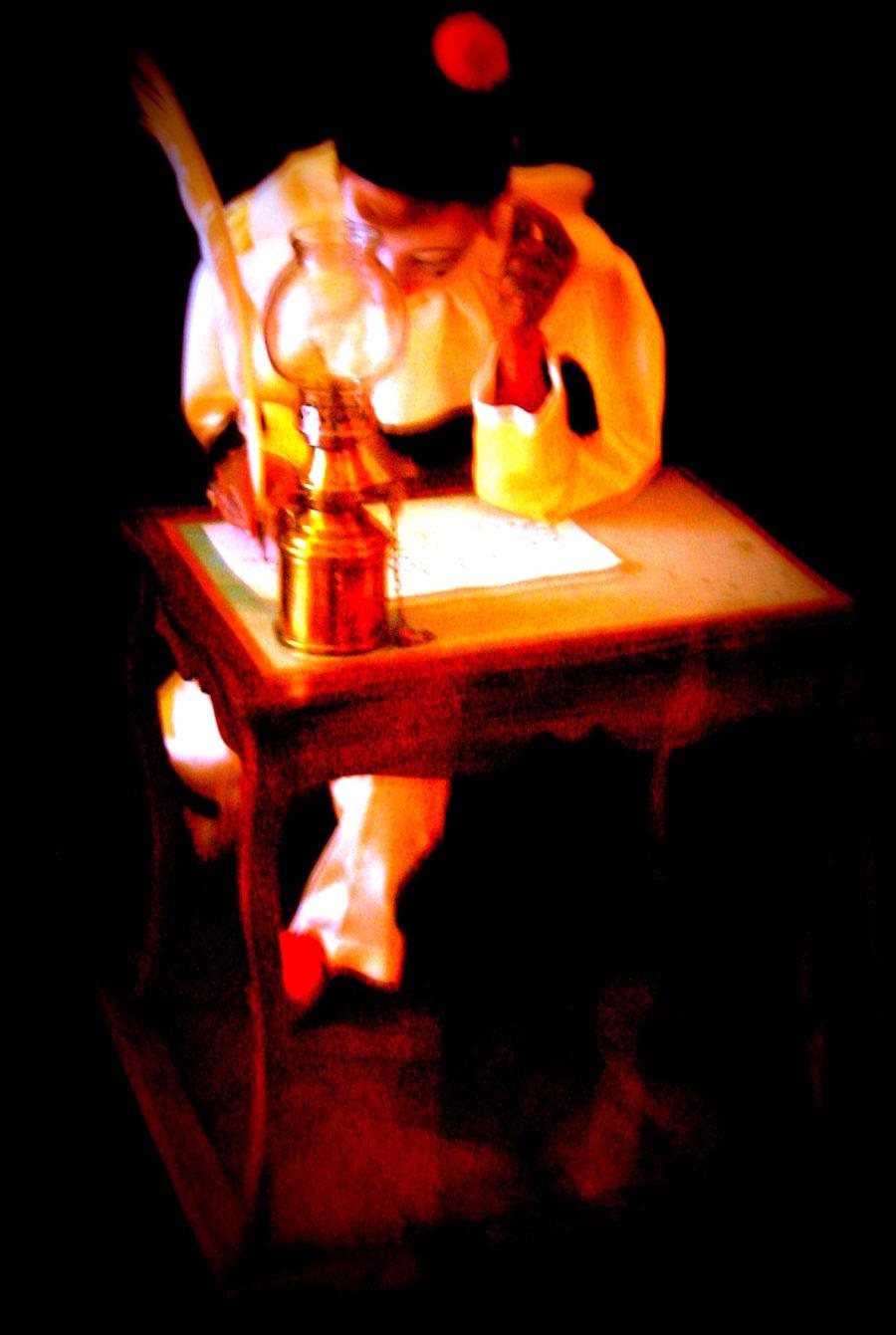 Pierrot, le penseur