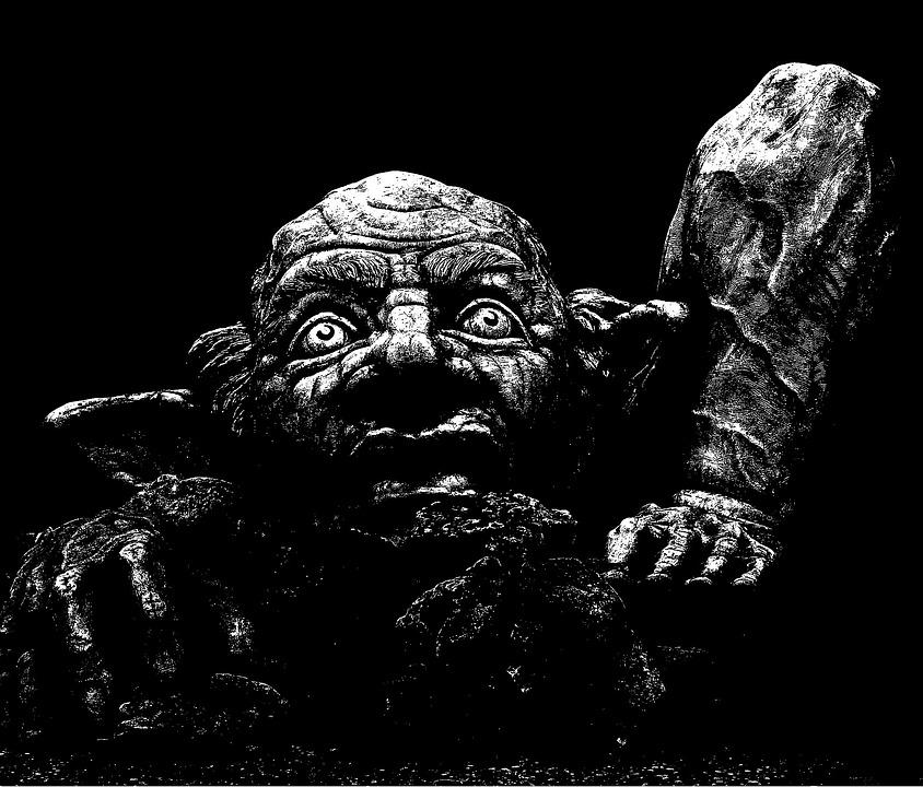 Troll pour illustrer le roman de vampire Déviance