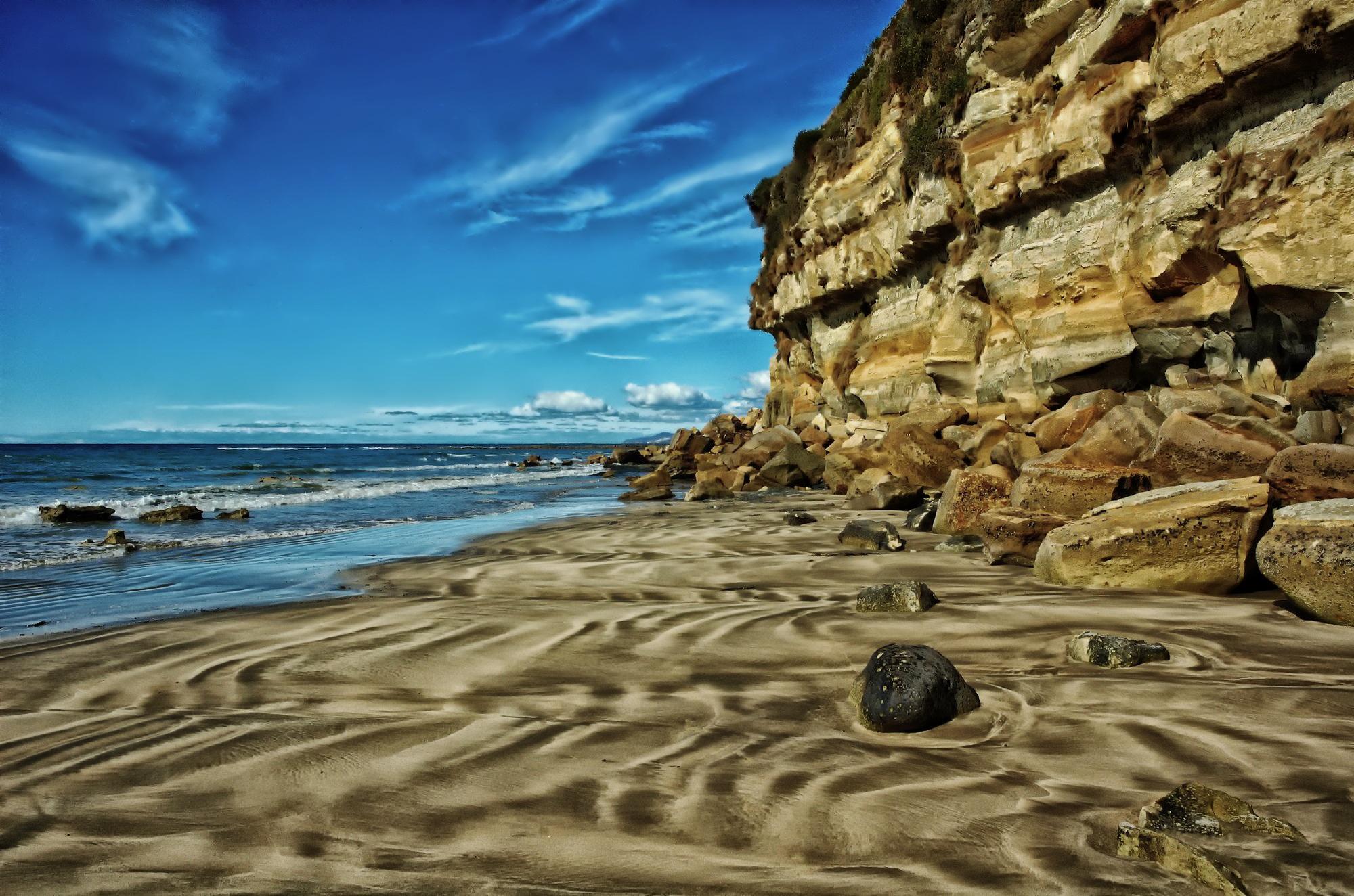 Falaise Plage Tasmanie - Pixabay