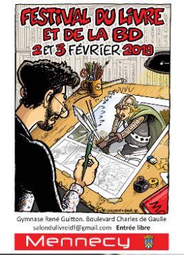 Festival du Livre et de la BD de Mennecy