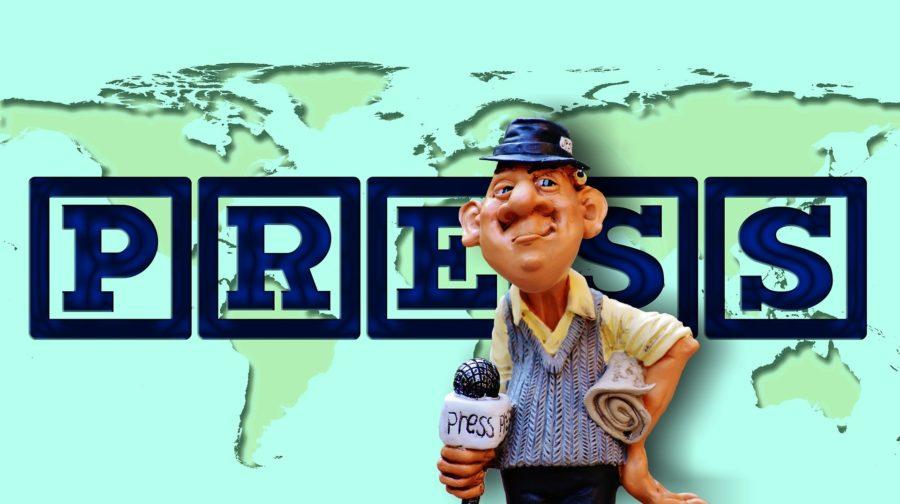 Communiqué de presse - Journaliste