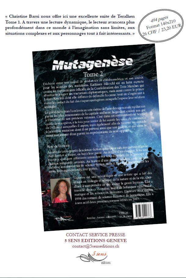Communiqué de presse - Mutagenèse P2