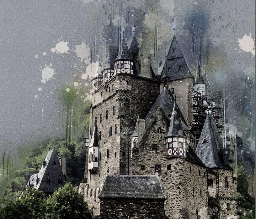Château des Mackrey - Illustrant Déviance II - Pixabay