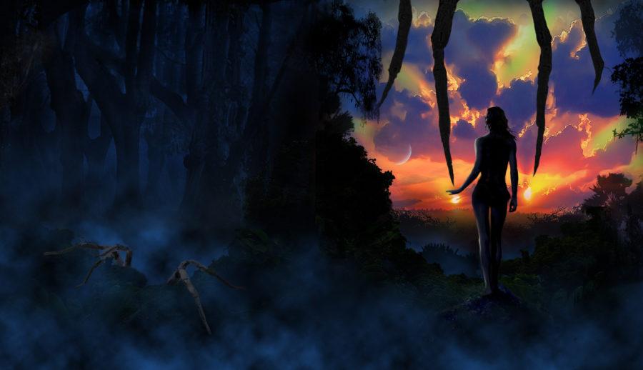 La Passion de l'Arachnee, roman de SF
