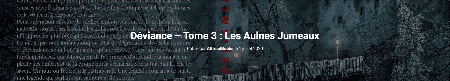 Site Abbey Read - Déviance Les Aulnes Jumeaux